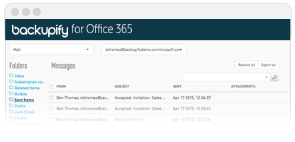 Office365_Scrrenshots_SentMail