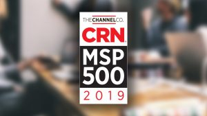 Frontier IT Named as a Pioneer 250 Company in the 2019 Managed Service Provider 500 list by CRN