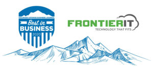 Colorado Springs Business Journal Awards Frontier IT as Best IT Firm